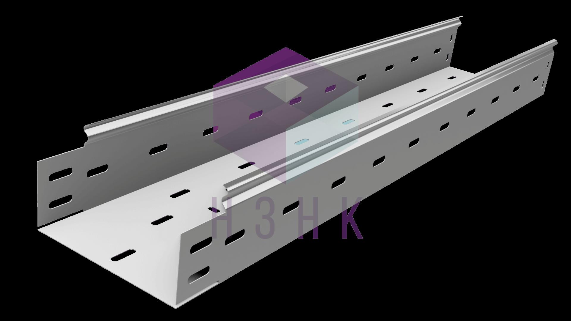 Лоток перфорированный 150Х80Х2500(0.7) нержавеющая сталь