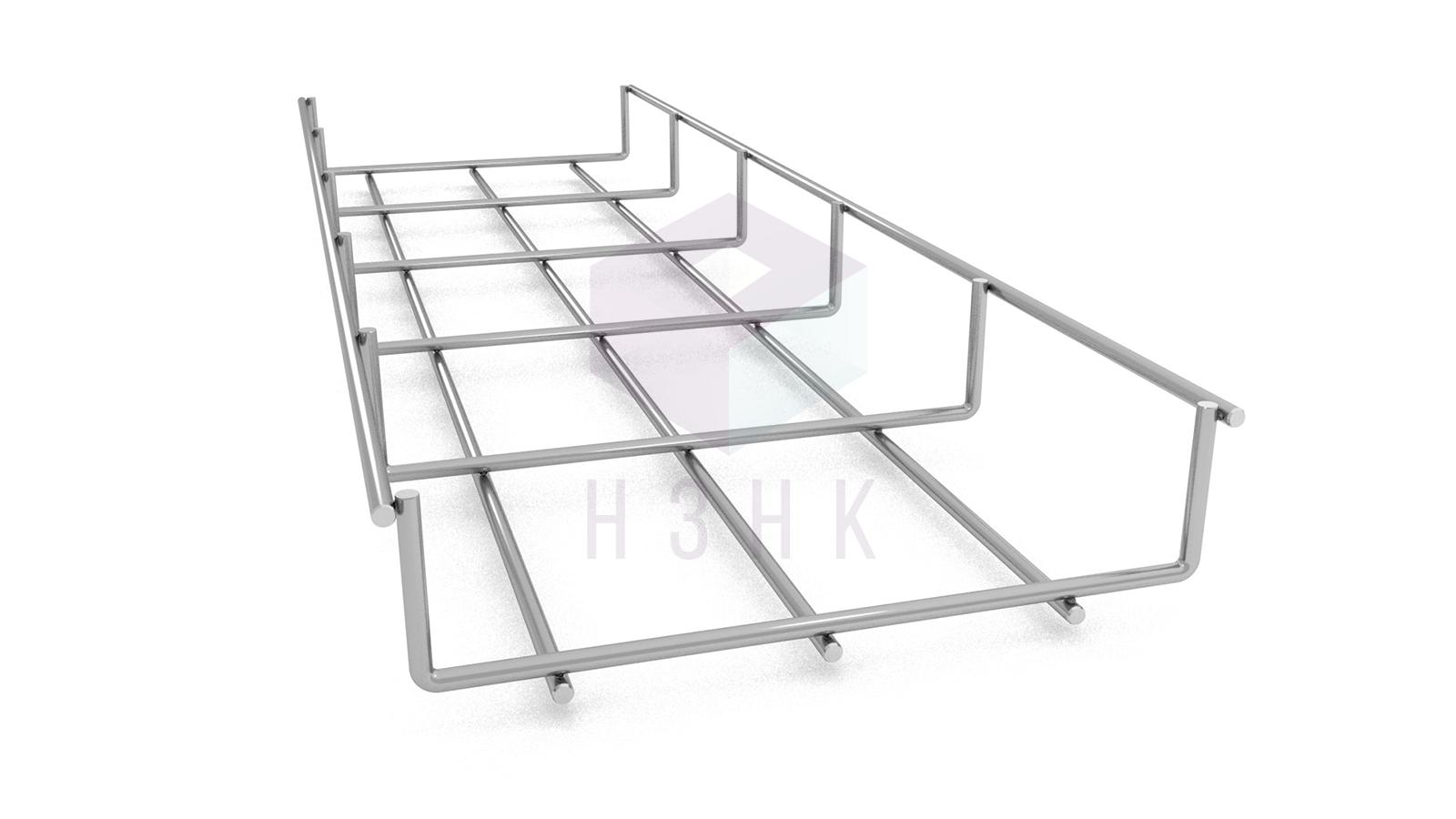 Лоток проволочный LPR150Х35Х3000(5) нержавеющая сталь