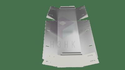 Углы внутренние вертикальные 45 VVU45