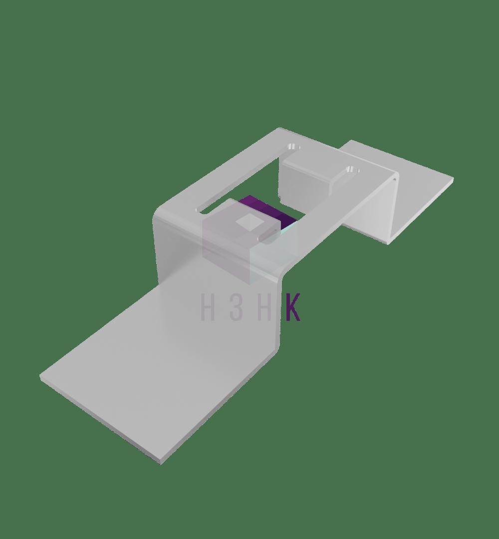 Скоба К1157(2.0) оцинкованная