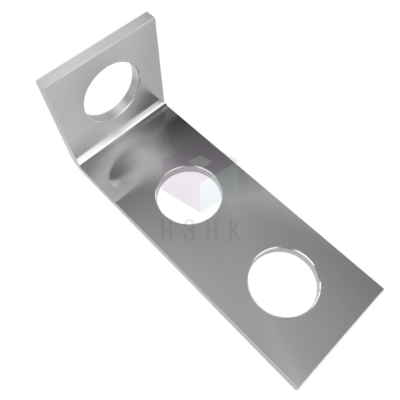 пластина угловая 90° 3 отверстия P909650