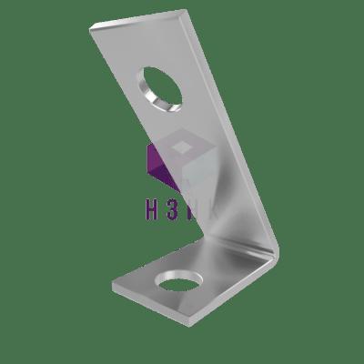 пластина угловая 45° 2 отверстия P4510572
