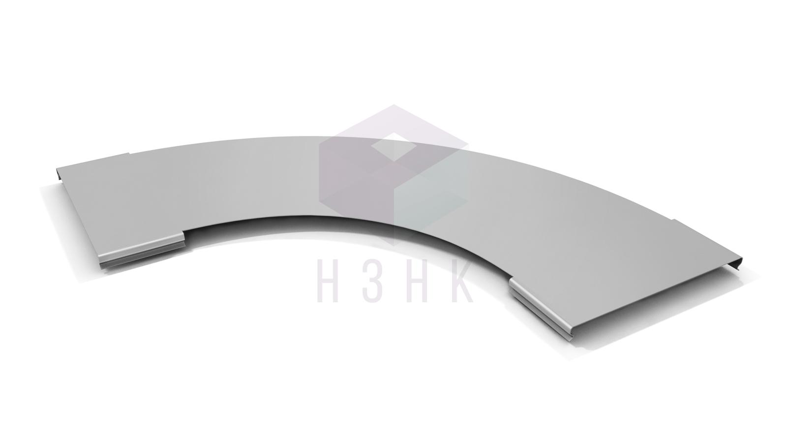 Крышки углов горизонтальных для лестничных лотков 90  градусов KUGLLZ90