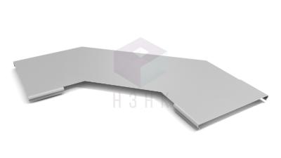 Крышки углов горизонтальных для лестничных лотков 90  градусов